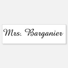Mrs. Barganier Bumper Bumper Bumper Sticker