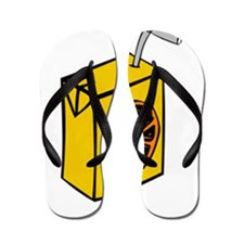 Orange Juice Box Flip Flops