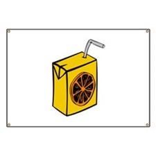 Orange Juice Box Banner