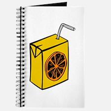 Orange Juice Box Journal