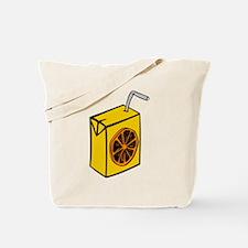 Orange Juice Box Tote Bag