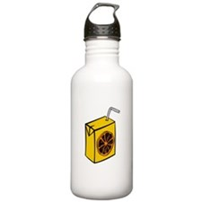 Orange Juice Box Water Bottle