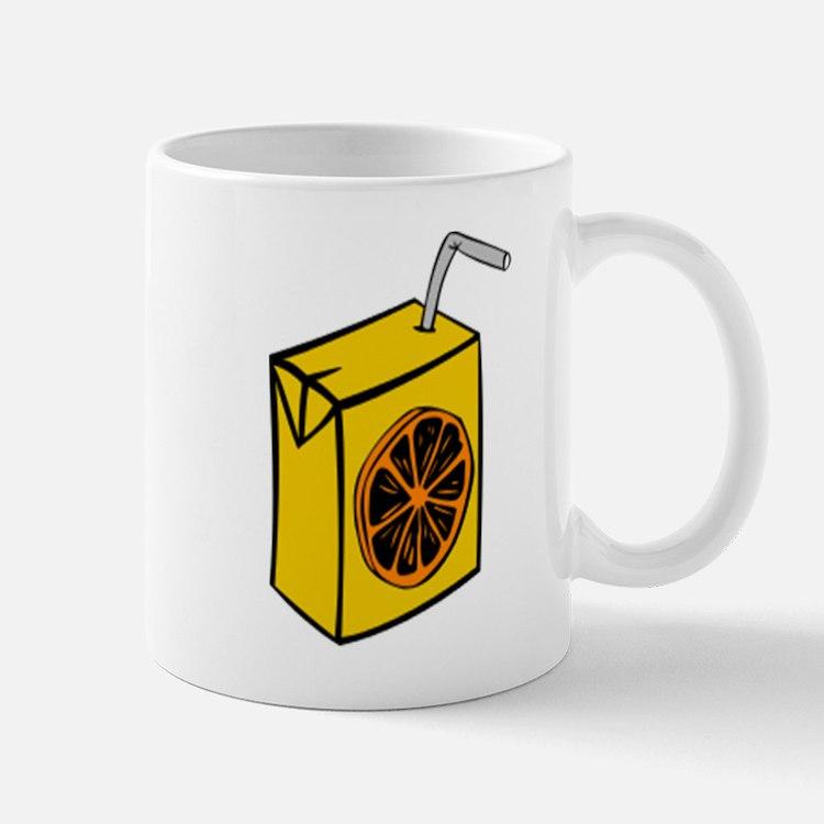 Orange Juice Box Mugs