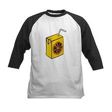 Orange Juice Box Baseball Jersey