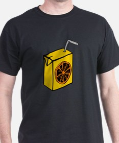 Orange Juice Box T-Shirt