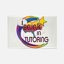 I Believe In Tutoring Cute Believer Design Rectang