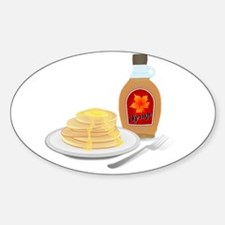 Pancakes with Syrup Breakfast Decal