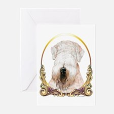 Wheaten Terrier Christmas/Holiday Greeting Cards (
