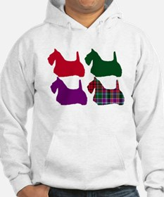 Scotty Dog Purple Jumper Hoodie