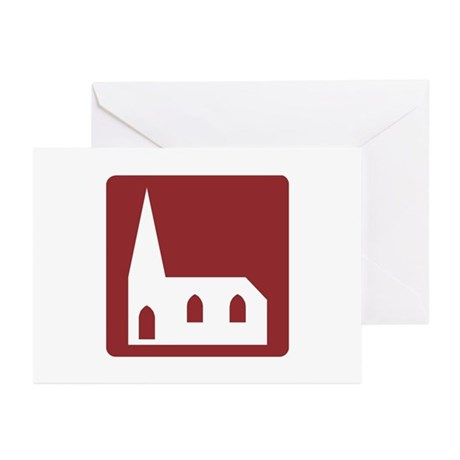 Church, UK Greeting Cards (Pk of 10)