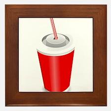 Soda Pop Cola Drink Framed Tile