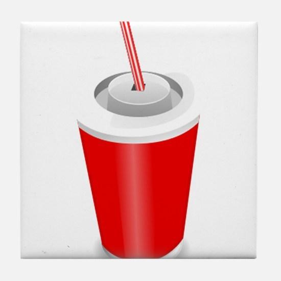 Soda Pop Cola Drink Tile Coaster