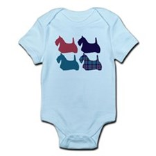 Scotty Dog Blue Body Suit