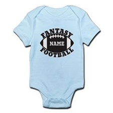 Personalized Fantasy Football Infant Bodysuit
