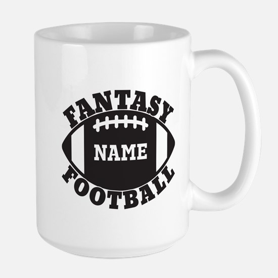 Personalized Fantasy Football Large Mug
