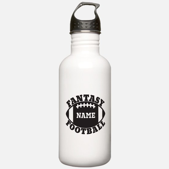 Personalized Fantasy Football Water Bottle