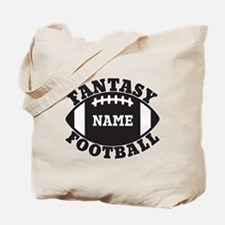 Personalized Fantasy Football Tote Bag