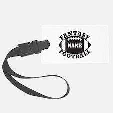 Personalized Fantasy Football Luggage Tag