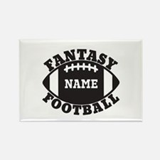 Personalized Fantasy Football Rectangle Magnet