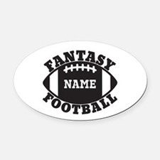 Fantasy Football Car Magnets Personalized Fantasy Football - Custom football car magnets