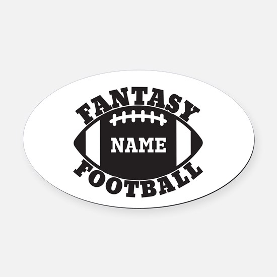 Fantasy Football Custom Car Magnets CafePress - Custom football car magnets