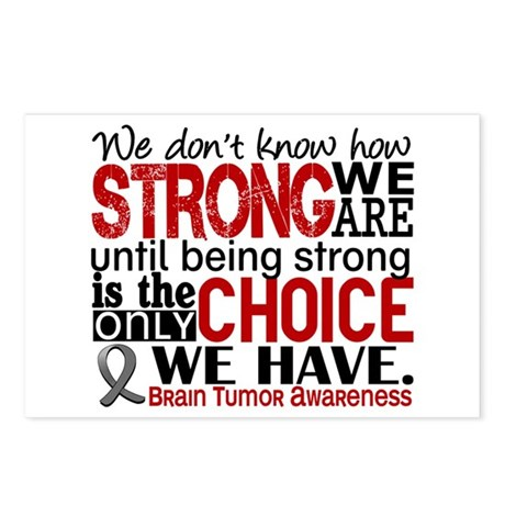 How Strong We Are Brain Tumor Postcards (Package o