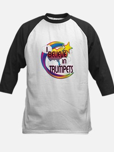 I Believe In Trumpets Cute Believer Design Tee