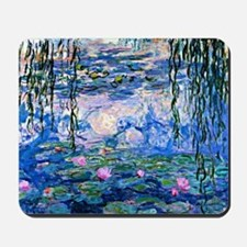 Monet - Water Lilies, 1919 Mousepad
