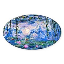 Monet - Water Lilies, 1919 Decal