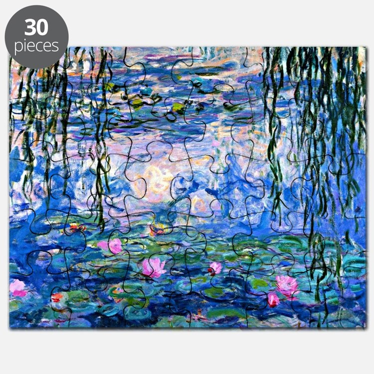 Monet - Water Lilies, 1919 Puzzle
