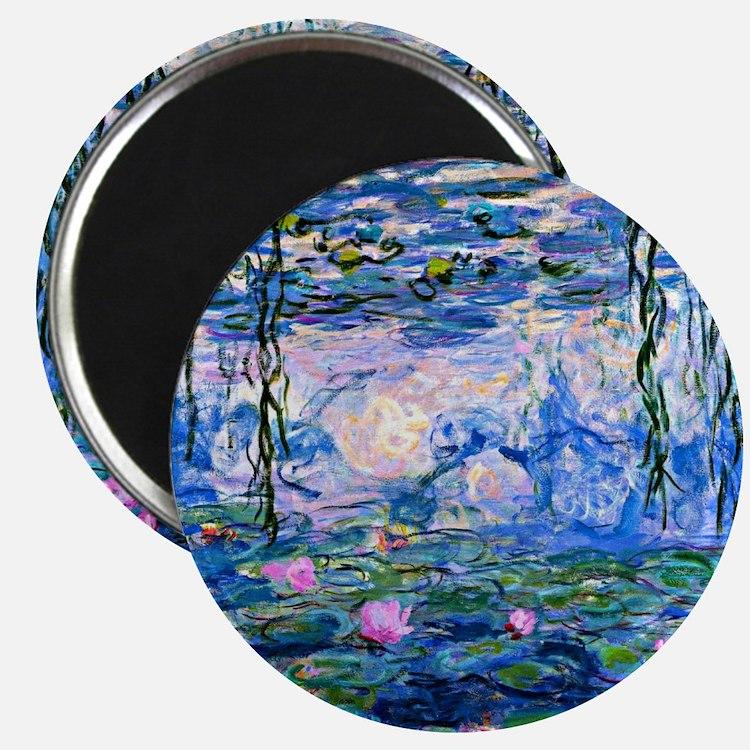 Monet - Water Lilies, 1919 Magnet