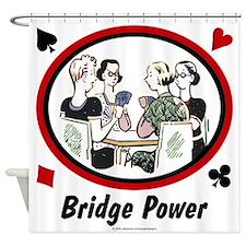 Bridge Power Shower Curtain