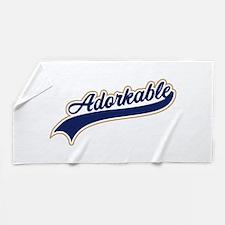 Adorkable Humor Beach Towel