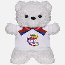 I Believe In Trombones Cute Believer Design Teddy