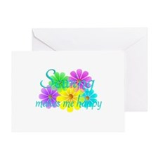 Sewing Happiness Greeting Card