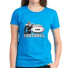 Personalized Football Player Tee
