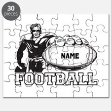 Personalized Football Player Puzzle