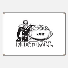 Personalized Football Player Banner