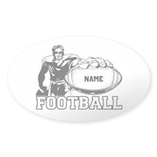 Personalized Football Player Decal