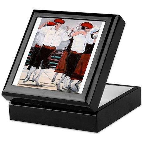 Basque Jota Dance Picture Keepsake Box