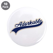 """Adorkable Humor 3.5"""" Button (10 pack)"""