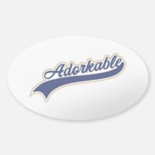 Adorkable Humor Decal