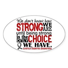 How Strong We Are Juv Diabetes Decal