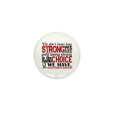 How Strong We Are Juv Diabetes Mini Button (10 pac