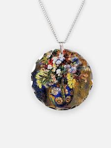 Renoir: Flowers in a Vase Necklace