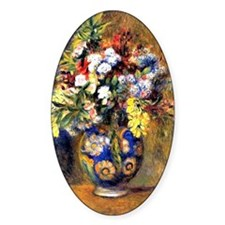 Renoir: Flowers in a Vase Decal