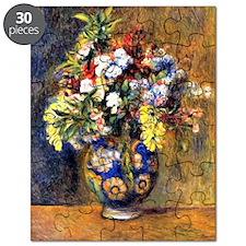 Renoir: Flowers in a Vase Puzzle