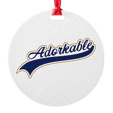 Adorkable Humor Ornament