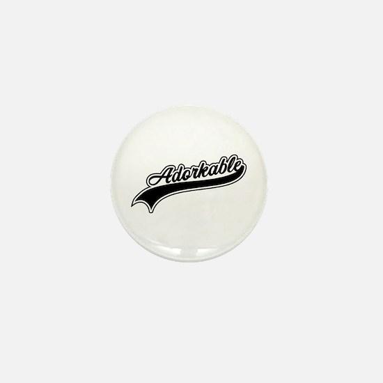 Funny Adorkable Mini Button