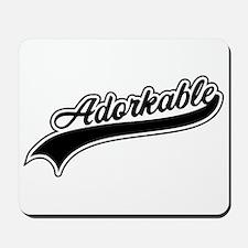Funny Adorkable Mousepad
